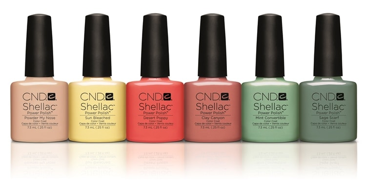 Коллекция CND Shellac Open Road